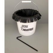 "Bucket of Stakes, 10"", Black"