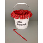 "Bucket of Stakes, 10"", Red"