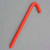 """12"""" Hook Stake, Orange"""