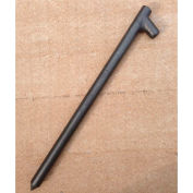 """12"""" Forged Head Stake, Unpainted"""