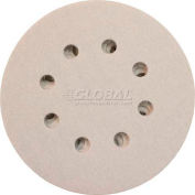 "Makita Round Abrasive Paper, 742527-A-50, 5"", Hook And Loop, 400 Grit, 50/Pk"