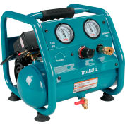 Makita® AC001, 0.17 HP, Hand Carry, 1 Gallon, Hot Dog, 125 PSI, 0.45 CFM, 1-Phase 120V