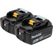 Makita® BL1860B-2 18V Li-Ion LXT Battery 6Ah Extended Capacity 2Pk