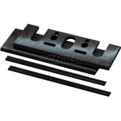 "Makita Planer Blade Set, D-17239, W/Set Plate, 3-1/4"", Double Edged Carbide, N1900, KP0800K, KP0810"