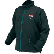 Makita® DCJ200Z3XL 18V LXT Lithium-Ion Heated Jacket (Jacket Only), black, 3XL