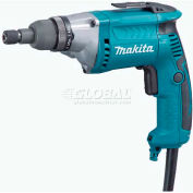 Makita Screwdriver, FS2701, 6 Amp, 0-2,500 RPM, 6 Stage Adj. Torque, Var. Speed, Rev., LED Light