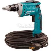 Makita Drywall Screwdriver, FS4200TP, 6 Amp, 0-4,000 RPM, Var. Speed, Rev., LED Light, 50' Cord