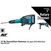 Makita® HM1214CX 27 lb. Demolition Hammer Power Pack