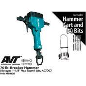 Makita® HM1810X3 70 lb. Breaker Hammer Power Pack