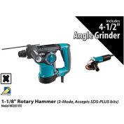 "Makita® HR2811FX 1-1/8"" Rotary Hammer Power Pack"