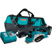 "Makita Cordless Planer, LXPK01, 18V, LXT Lithium-Ion, 3-1/4"", Bag"