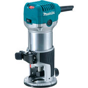 Makita® RT0701C 1-1/4 HP Compact Router, Fixed base, 10,000-30,000 RPM, var. spd.