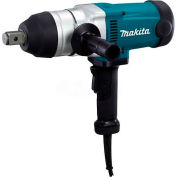 "Makita TW1000 1"" Impact Wrench w/ friction ring anvil, 1,500 IPM, 738 ft. lbs., reversible, case"