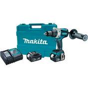 """Makita® XFD07M 18V LXT BL 1/2"""" Driver-Drill Kit, 4.0Ah"""