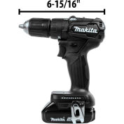 "Makita® LXT® Cordless 1/2"" Hammer Driver-Drill Kit, 2.0Ah, Lithium-Ion, Brushless, 18V"