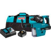 "Makita XRH011TX 18V Li-Ion Brushless Cordless 1"" Rotary Hammer Kit w/ HEPA Vacuum Attachment 5.0Ah"