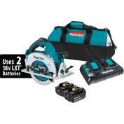 "Makita® LXT® Cordless 7-1/4"" Circular Saw Kit, Lithium-Ion, Brushless, 5.0Ah, 18V, 6000RPM"
