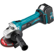 "Makita® BGA452, 18V LXT Lithium-Ion Cordless 4-1/2"" Cut-Off/Angle Grinder Kit"