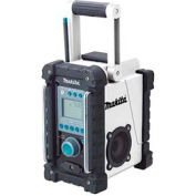 Makita® XRM02W, 18V LXT Lithium-Ion Cordless Fm/Am Job Site Radio