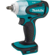 "Makita XWT06, 18V LXT Lithium-Ion Cordless 3/8"" Impact Wrench Kit (2) 3.0Ah Batteries, Charger, Bag"