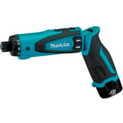 "Makita® DF010DSE, 7.2v Lithium-Ion Cordless 1/4"" Hex Driver-Drill Kit w/ Auto-Stop Clutch"