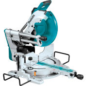 """Makita® LS1219L, 12"""" Dual‑Bevel Sliding Compound Miter Saw with Laser"""