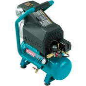 Makita® MAC700, 2 HP, Hand Carry, 2.6 Gallon, Hot Dog, 130 PSI, 3.3 CFM, 1-Phase 120V