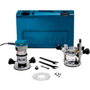 Makita® RF1101KIT2, 2-1/4 H.P. Industrial Router Kit (Variable Speed)