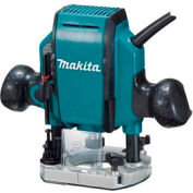 "Makita® RP0900K, 1-1/4"" Hp Plunge Router"