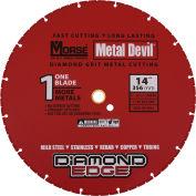 "M.K. Morse 102049 Metal Devil Diamond Edge Abrasive Cut-Off Wheels 14"" Diameter"