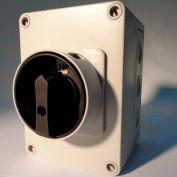 Springer Controls / MERZ ML1-025-AB3E, 25A, 3-Pole, Enclosed Disconnect Switch, Black/Grey