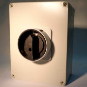 Springer Controls / MERZ ML2-080-AB3E, 80A, 3-Pole, Enclosed Disconnect Switch, Black/Grey