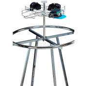 Marv-O-Lus Sky Kit W/ One Cap Tier, 1 Step Design, Chrome, 160-1C-SIL