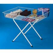 Marv-O-Lus Dump Table, 1 Step Design, White, 1959-WHT
