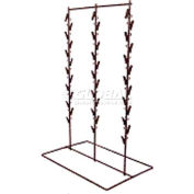 Marv-O-Lus 36-Clip Counter Rack, 10/Pk, 12 Step Design, Black, CS-32 (Case Pack)