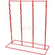 Marv-O-Lus 48-Clip Counter Rack, 10/Pk, 12 Step Design, Black, CS-48 (Case Pack)