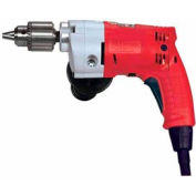 "Milwaukee® 0202-20 Magnum® 3/8"" Drill 0-1200 RPM W/ All Metal Chuck & QUIK-LOK® Cord"