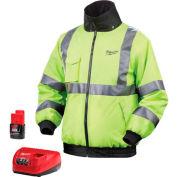 Milwaukee® 2347-3X M12™ Cordless High Visibility Heated Jacket Kit - 3X