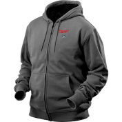 Milwaukee® 2369-L M12™ Cordless Gray Heated Hoodie Kit - L
