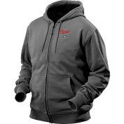 Milwaukee® 2369-S M12™ Cordless Gray Heated Hoodie Kit - S