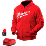 Milwaukee® 2371-S M12™ Cordless Red Heated Hoodie Kit - S