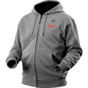 Milwaukee® 2372-3X M12™ Cordless Gray Heated Hoodie Only - 3X