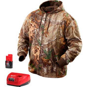 Milwaukee® 2383-M M12™ Cordless Realtree Xtra® Camo Heated Hoodie Kit - M