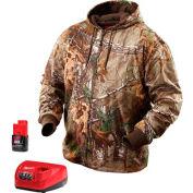 Milwaukee® 2383-XL M12™ Cordless Realtree Xtra® Camo Heated Hoodie Kit - XL