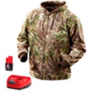 Milwaukee® 2385-2X M12™ Cordless Realtree Max-1™ Camo Heated Hoodie Kit - 2X