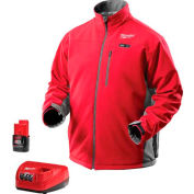 Milwaukee® 2391-XL M12™ Cordless Red Heated Jacket Kit - XL