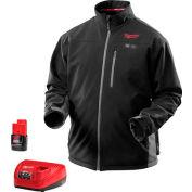 Milwaukee® 2395-XL M12™ Cordless Black Heated Jacket Kit - XL