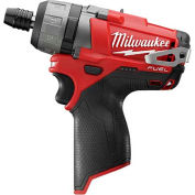 "Milwaukee® 2402-20 M12 FUEL™ 1/4"" Hex 2-Speed Screwdriver (Bare Tool Only)"