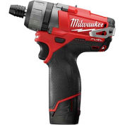 "Milwaukee 2402-22 M12 FUEL 1/4"" Hex 2-Speed Screwdriver Kit"