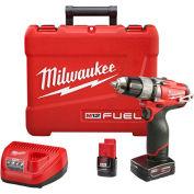 """Milwaukee 2403-22 M12 FUEL 1/2"""" Drill/Driver Kit"""